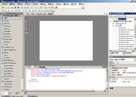 Silverlight起步[2]--创建第一个Silverlight应用